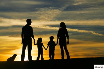 Family-Sunset